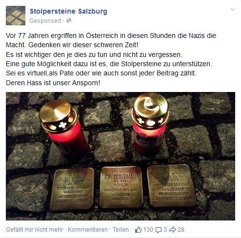 Stolpersteine Salzburg